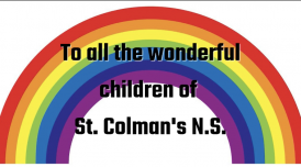 A message from staff at St. Colman's NS